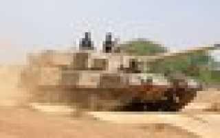 Основной боевой танк Arjun (Индия)