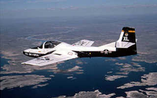 Легкий штурмовик A-37 Dragonfly (США)