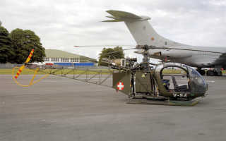 Опытный вертолёт Atlas XH-1 Alpha (ЮАР)