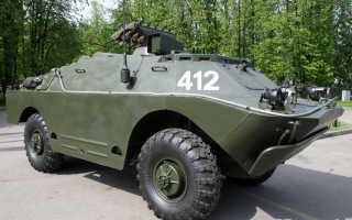 Боевая машина 9П148 с ПТРК 9К113 «Конкурс» (СССР)