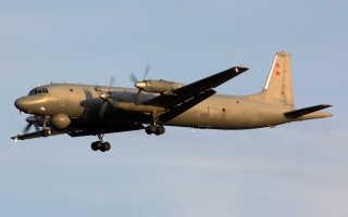 Противолодочный самолет Ил-38 (СССР)