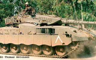 Основной танк Merkava Mk.2 (Израиль)