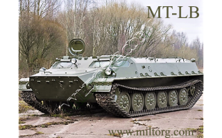 Многоцелевой транспортер-тягач МТ-ЛБ (СССР)