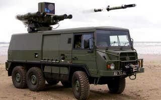 Зенитный ракетный комплекс Starstreak SP (Великобритания)
