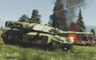 Тяжелая разведывательная машина Leopard C2A2-HR (Канада)