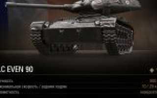 Самоходная артиллерийская установка ELC Even (Франция)