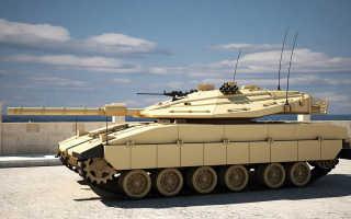 Основной танк Merkava Mk.1 (Израиль)