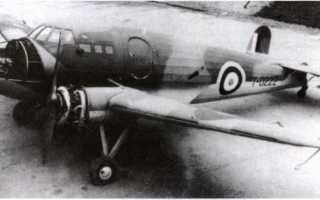 Экспериментальный самолёт Boulton Paul P.111 (Великобритания)